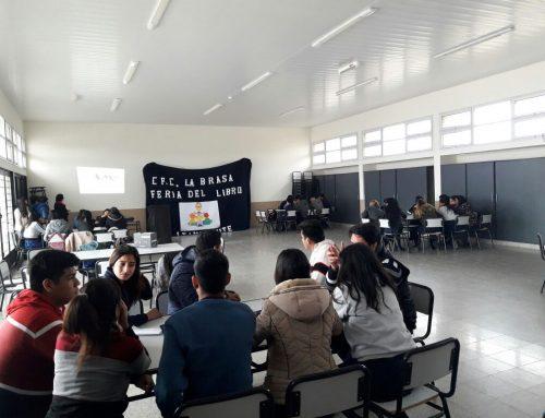 LA FERIA DEL LIBRO ITINERANTE CONTINÚA CON SU CRONOGRAMA POR LAS INTITUCIONES EDUCATIVAS DE LA PROVINCIA